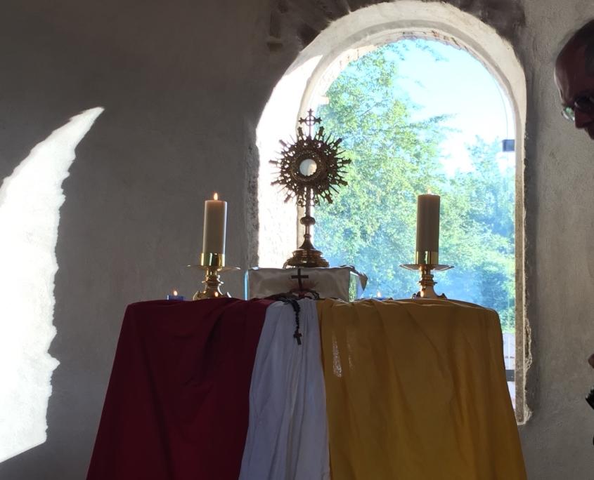 Prière saint sacrement